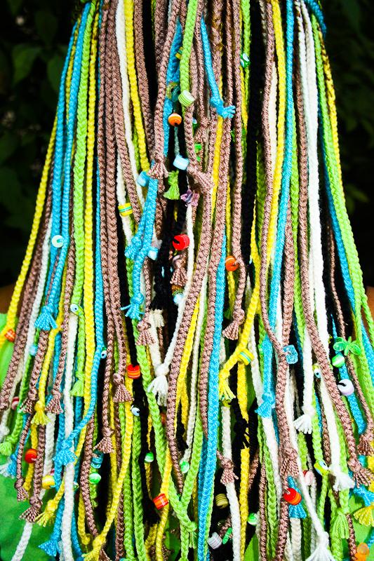 Что используют для плетения афрокосичек